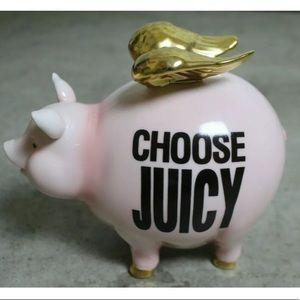 Choose Juicy 🐷 Juicy Couture Piggy Bank